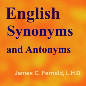 لغات مترادف و متضاد زبان انگلیسی