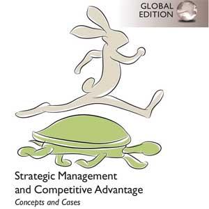 کتاب مدیریت استراتژیک و مزیت رقابتی بارنی