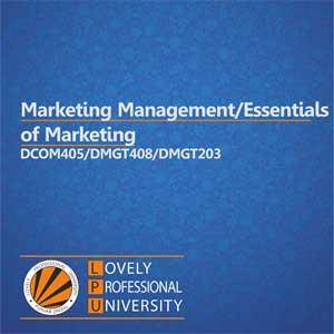 مدیریت بازاریابی/مبانی بازاریابی